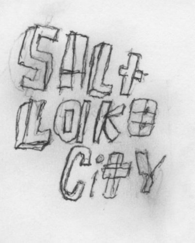 lettering lay-over